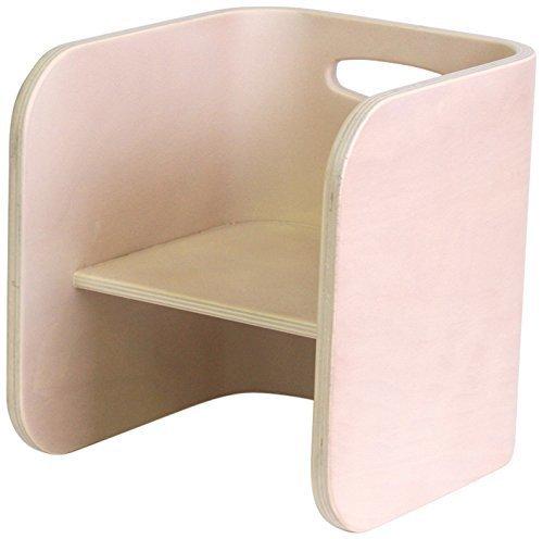 HOPPL(ホップル) コロコロチェア&デスク コロコロチェア アイボリー ビーチ・カバ材 CL-CHAIR-IV,子ども,椅子,