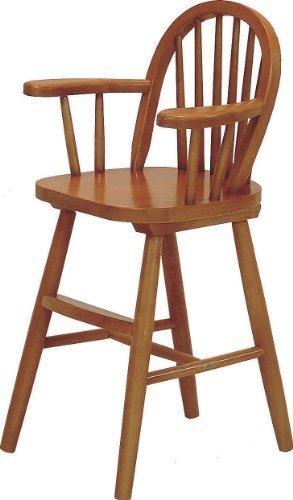 不二貿易 ウインザーベビーチェア 木製 天然木 ブラウン 51860,子ども,椅子,