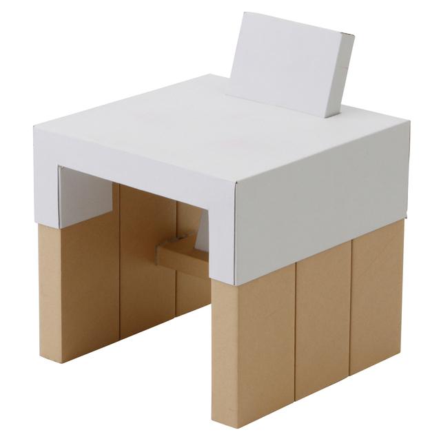 じぶんでつくる紙管こどもイス・小無印良品,子ども,椅子,