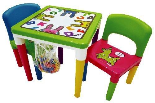 ロディ テーブル&チェアー ブロック付セット,キッズ,チェア,椅子