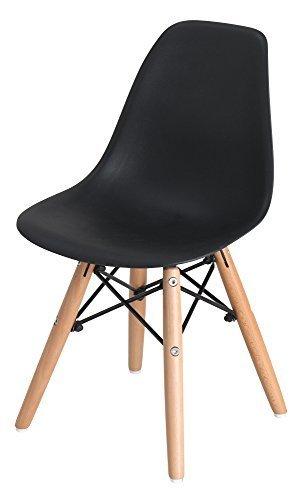 イームズチェア シェルチェア キッズ 木脚 PP-902-1 (ブラック),キッズ,チェア,椅子