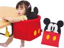 キャンピングホルダー洗えるシート ミッキーマウス テーブルチェア 【カトージ KATOJI】,ベビーチェア,おすすめ,