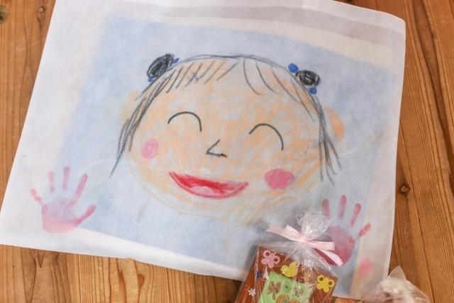 子どもが描いた絵,入園祝い,お返し,
