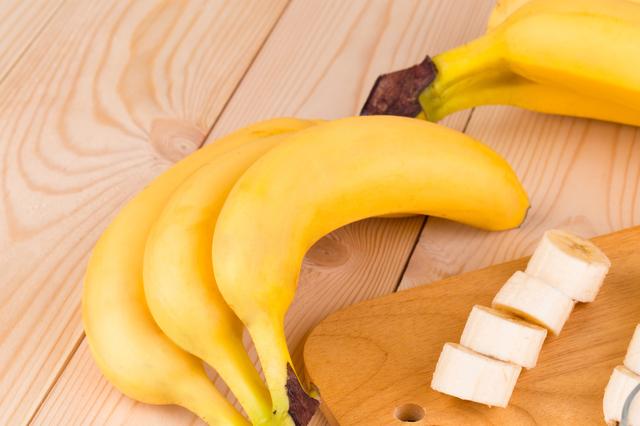 まな板とバナナ,バナナ,離乳食,