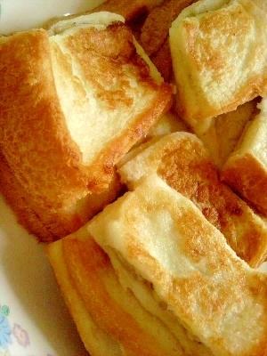 離乳食★バナナフレンチトースト,バナナ,離乳食,