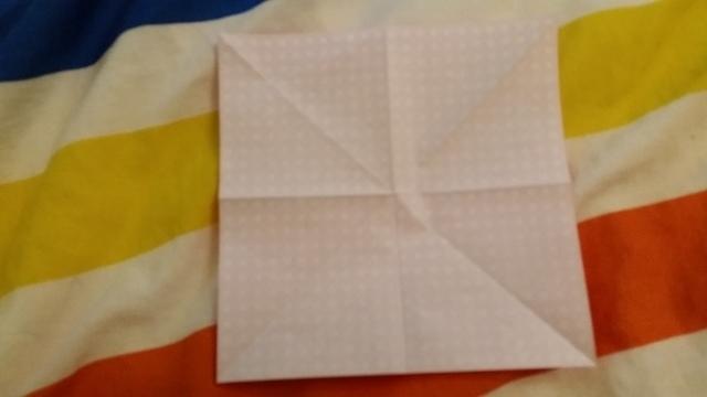 折り紙リボン折り方2,折り紙,リボン,