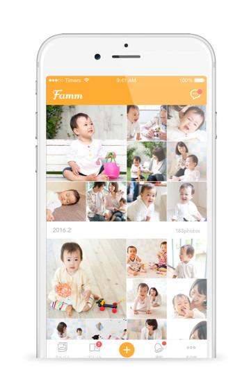 Fammのアルバム,写真,編集,アプリ