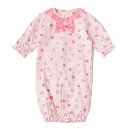 イチゴ総柄2WAYオール ピンク F,ベビー服,ブランド,おすすめ