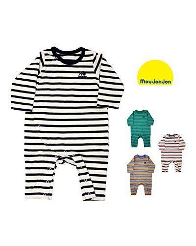 【子供服】 moujonjon (ムージョンジョン) 日本製天竺ボーダーTオール 70cm,80cm M54767,ベビー服,ブランド,おすすめ