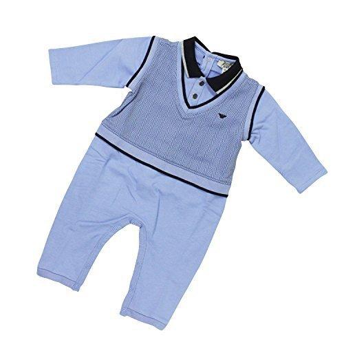 (アルマーニベビー) ARMANI BABY ベビー服 長袖ボディースーツ UKM10ZGBLU 12Mサイズ [並行輸入品],ベビー服,ブランド,おすすめ