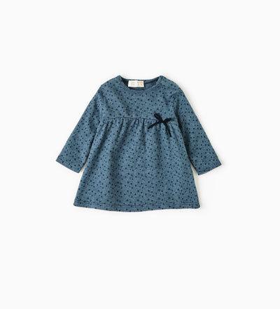 スタープリント地ベーシックワンピース|ZARA(ザラ),ベビー服,ブランド,おすすめ