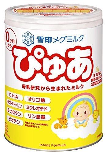 雪印メグミルクぴゅあ 820g,粉ミルク,おすすめ,