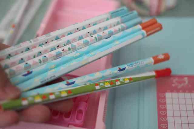 オリジナル,鉛筆,かわいい,