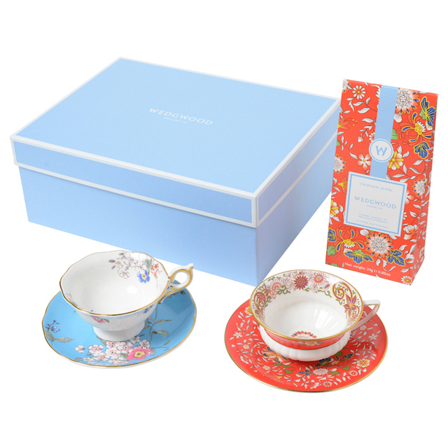 ウェッジウッドのティーカップと紅茶のセット,内祝い,紅茶,