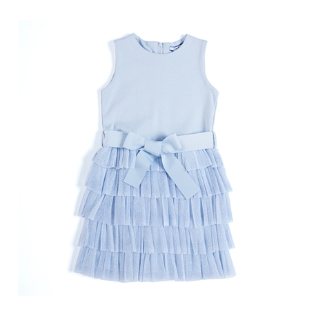 キャンディキッズカジュアルブルードレス,子供服,ドレス,