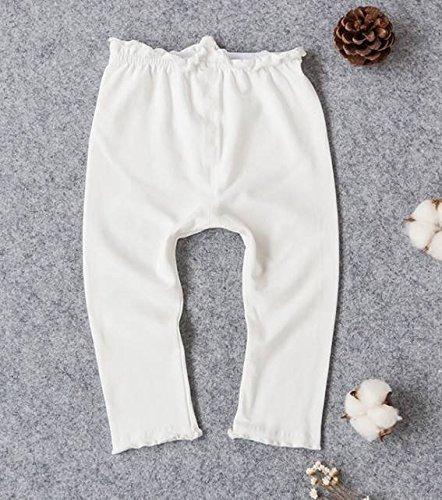 (オルル)OLULU ベビー服 薄手 レギンス スパッツ ベビー 赤ちゃん 子ども 男の子 女の子 お出かけ 紫外線 日よけ 冷房対策 606g052(80,ホワイト),レギンス,ベビー,
