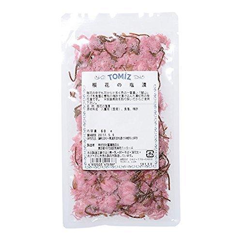 桜花の塩漬/60g TOMIZ/cuoca(富澤商店) 花・葉・草・竹皮・経木 桜の花・桜の葉,お花見,おにぎり,
