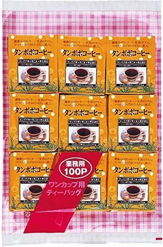 業務用黒ゴマ黒豆入たんぽぽコーヒーティーパック100袋(アルミ),母乳,ハーブティー,