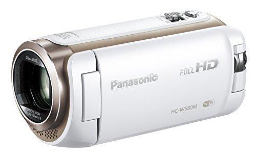 Panasonic HDビデオカメラ W580M 32GB サブカメラ搭載 高倍率90倍ズーム ホワイト HC-W580M-W,出産入院準備,リスト,必要