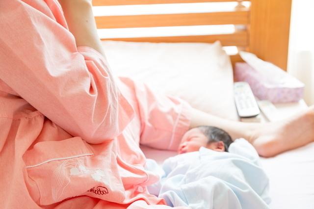 新生児とママ,入院費用,出産,