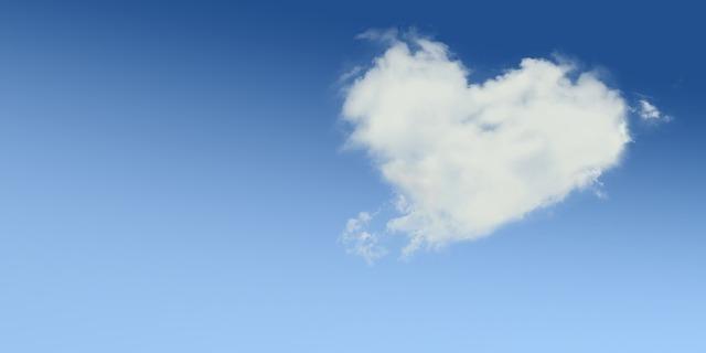 ハート型の雲,生後,9ヶ月,体重