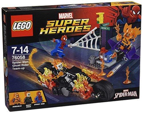 レゴ (LEGO) スーパー・ヒーローズ スパイダーマン:ゴーストライダーとの団結 76058,レゴ,ブロック,