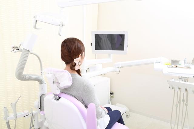 歯科検診の様子,妊娠,14週,お腹