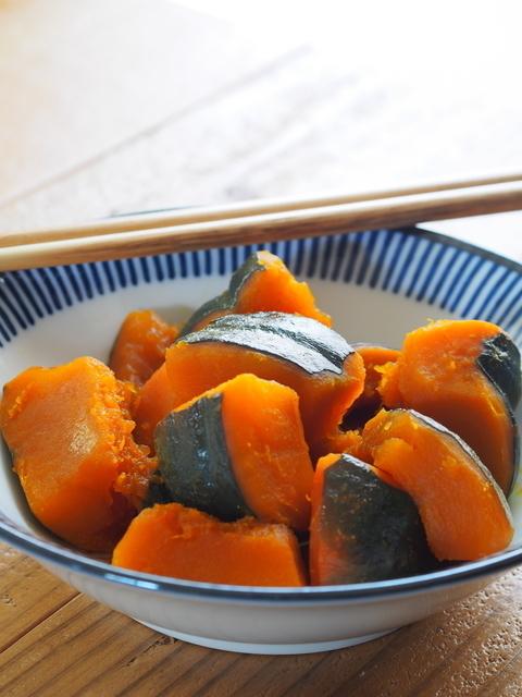 かぼちゃの煮物,離乳食,かぼちゃ,