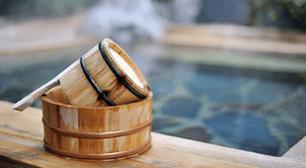お風呂と桶,妊婦,影響,温泉