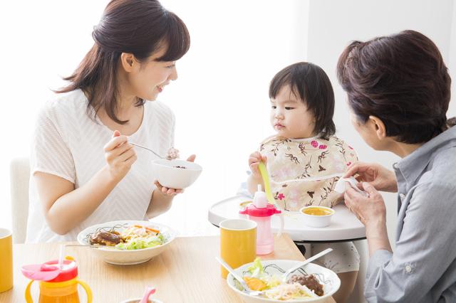 家族で食事,食事マナー,