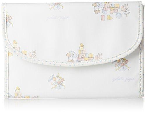 [ジェラート ピケ] 手帳ケース キッズルルーム柄ジャバラ母子手帳ケース PWGG175604 86 BLU,母子手帳ケース,