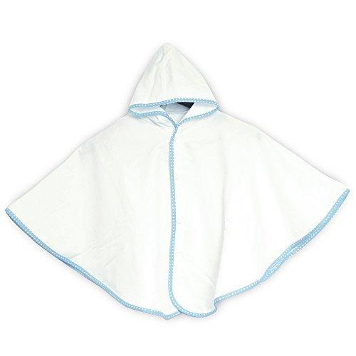 ブルーム 今治産 Fit-Use(フィットユース) ベビーポンチョ (ホワイト),双子,出産祝い,