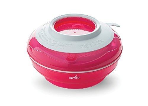 nuvita(ヌヴィータ) 離乳食 簡単調理器具セット 1つにまとまりコンパクト ピンク,離乳食,調理器具,おすすめ