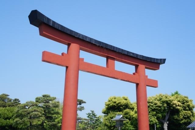 神社の鳥居,妊娠,安定期,注意