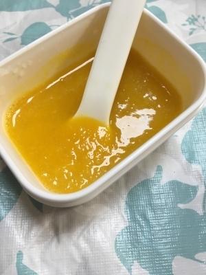 離乳食初期(*^^*)かぼちゃと大根☆,離乳食,初期,大根