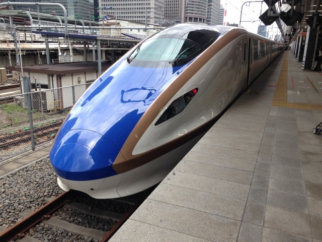 北陸新幹線 かがやき,新幹線,多目的室,