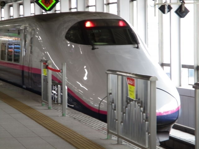 新幹線とき,新幹線,多目的室,