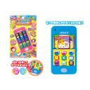タッチスクリーンケータイ スマートフォンごっこや、おしゃべり&サウンドあそびが楽しい! 携帯電話 スマホ 2D仕様 おもちゃ 知育玩具,おもちゃ,スマホ,
