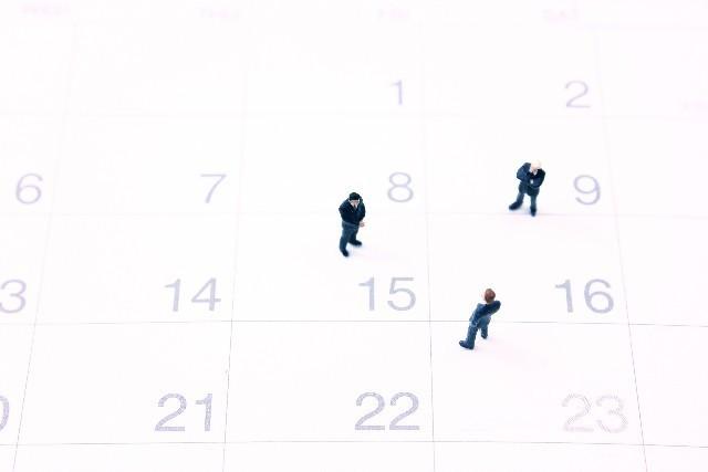 カレンダーの写真,育休中,妊娠,