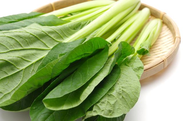 小松菜,離乳食,鉄分,