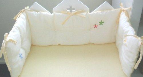 ダブルガーゼベビーベッド用ベッドガード|白井産業,赤ちゃん,ベッドガード,おすすめ