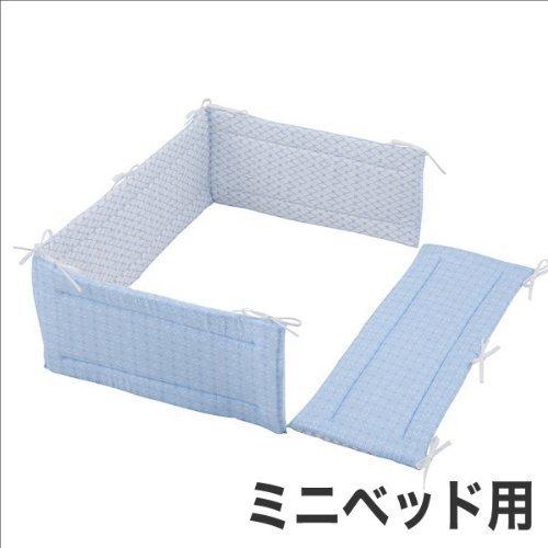 リバーシブルプチアンジェ ミニベッド用 ベッドガードパット|フジキ,赤ちゃん,ベッドガード,おすすめ