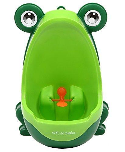 (World Zakka) 楽しく トイレトレーニング おまる 男の子 カエル 取外し可能 (グリーン),おまる,おすすめ,