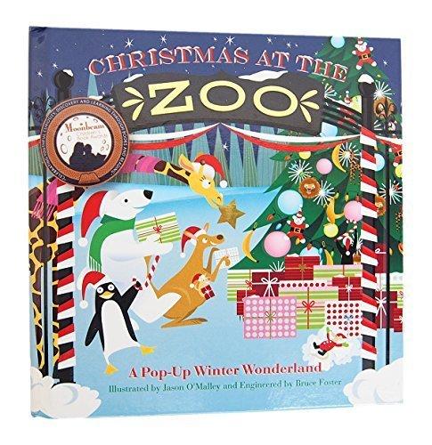 JUMPING JACK PRESS クリスマス ポップアップブック (Christmas at the Zoo) JJP101,飛び出す,絵本,
