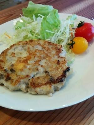 ぶりの豆腐ハンバーグ【取り分け離乳食に】,離乳食,ぶり,
