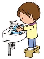 手を洗う子ども(イメージ),子ども,踏み台,