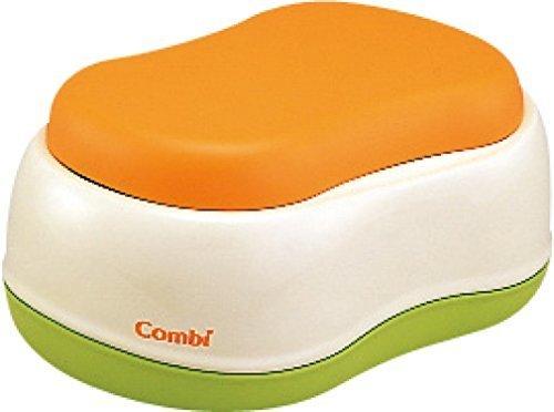コンビ Combi トイレトレーニング ベビーレーベル おまるでステップ レーベルオレンジ (LO) (6ヶ月頃から対象),子ども,踏み台,