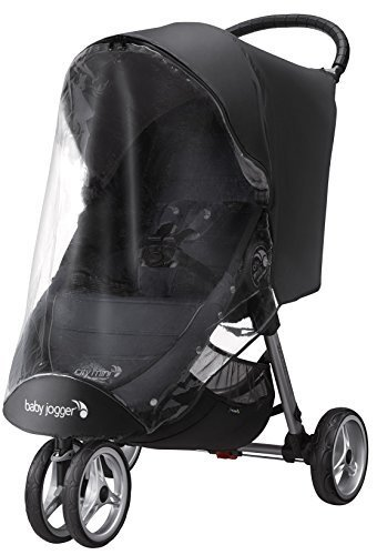 baby jogger (ベビージョガー) 純正アクセサリー ウェザーシールド (シティミニ&シティミニGT専用レインカバー) ブラック 2022351,ベビーカー ,レインカバー,