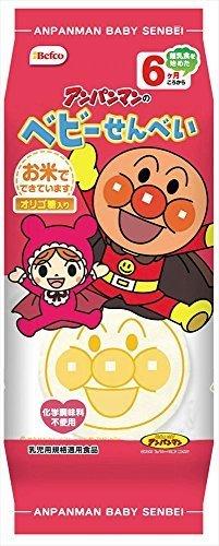 栗山米菓 アンパンマンのベビーせんべい 16枚×12袋,赤ちゃん,お菓子,