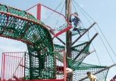 あいかわ公園の巨大ツリー,アスレチック,神奈川,
